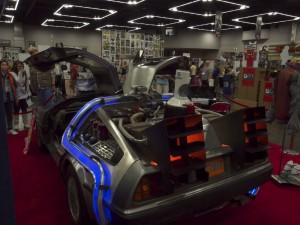 Back to the Future Time Machine Replica