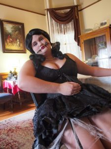 Allie Wolter - Creepy goth doll